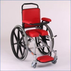 Shower Commode Wheelchair Small Children - Lagooni Junior XS